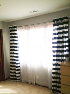 curtains done