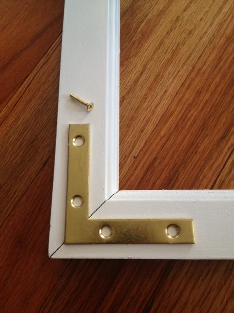 Diy Campaign Style Frame A Touch Of Bling This Is Our
