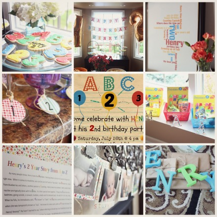 ABC 123 Party Details - abc 123 birthday party - kid's party - alphabet birthday - this is our bliss