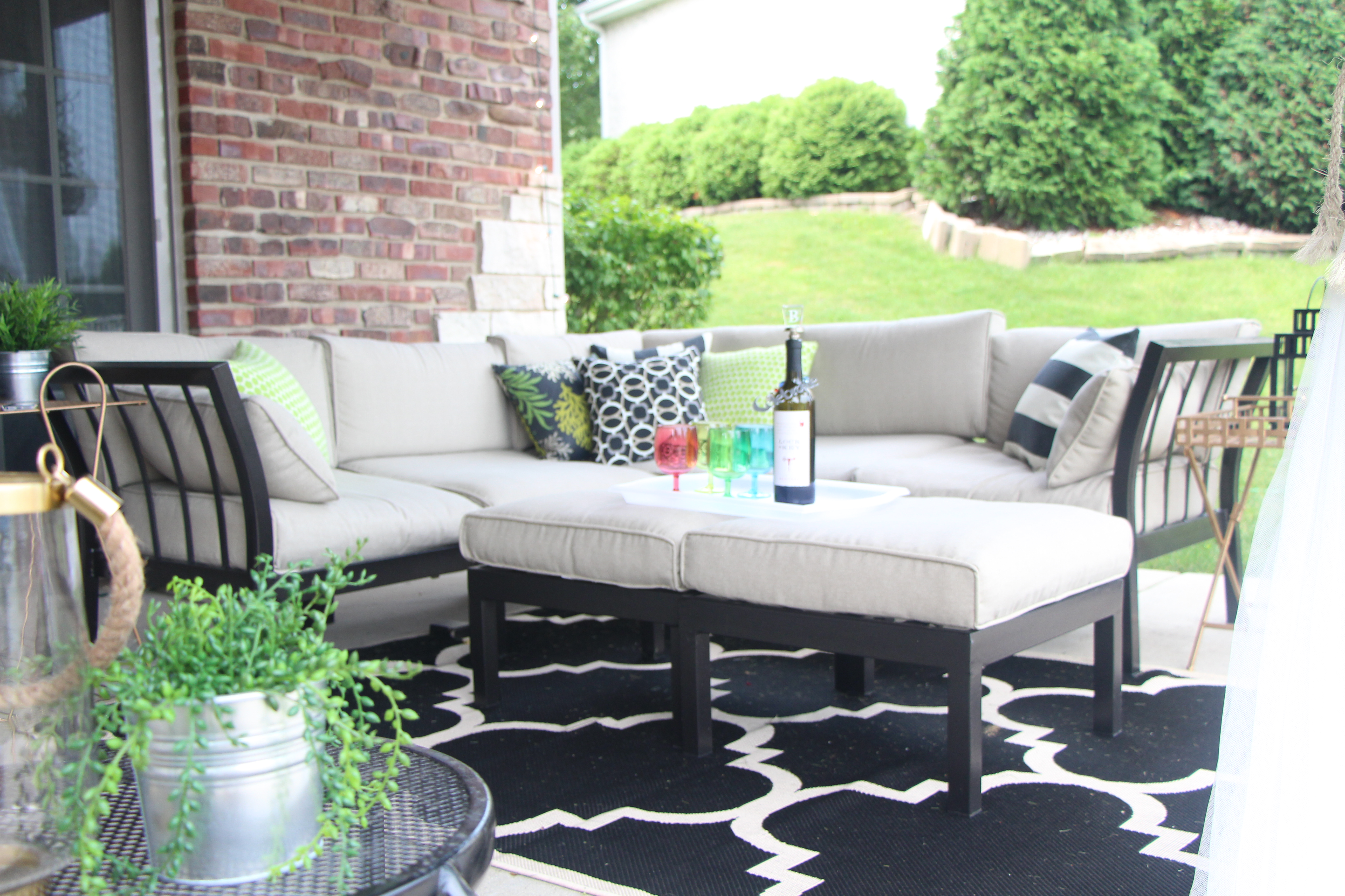 outdoor oasis reveal backyard patio this is our bliss