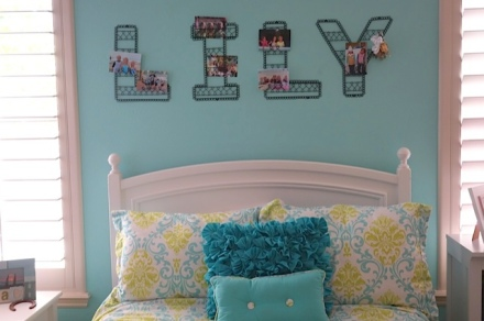 Big girl bedroom decor
