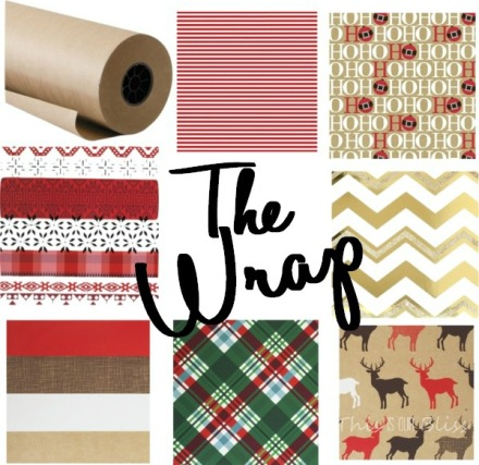 Holiday gift wrapping favorites
