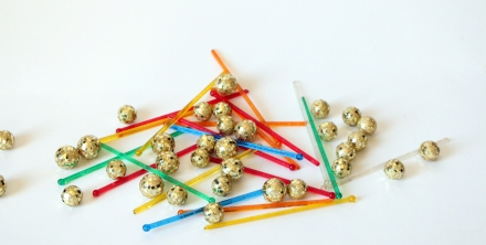 DIY New Year's Eve Party Drink Sticks