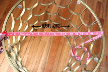 how to make a cloth insert for DIY hamper - This is our Bliss