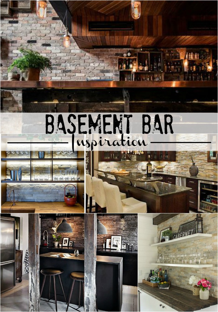 Basement Bar Area Inspiration This Is Our Bliss