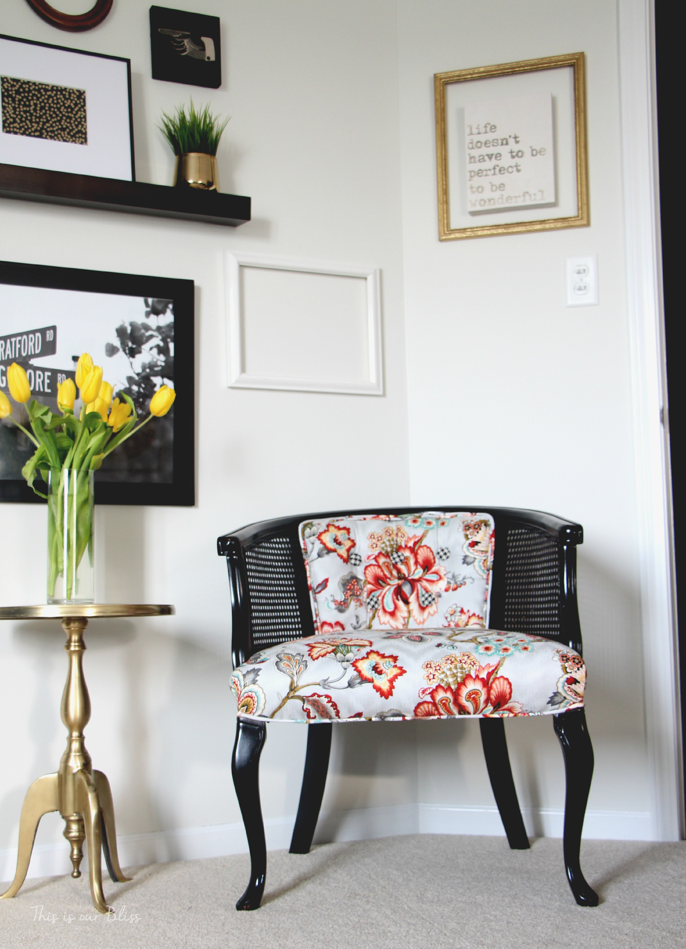 Guestroom Reveal | One Room Challenge Spring 2015 | This is our Bliss