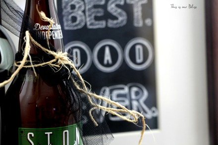 Dad's favorite things - craft beer - free printable - this is our bliss