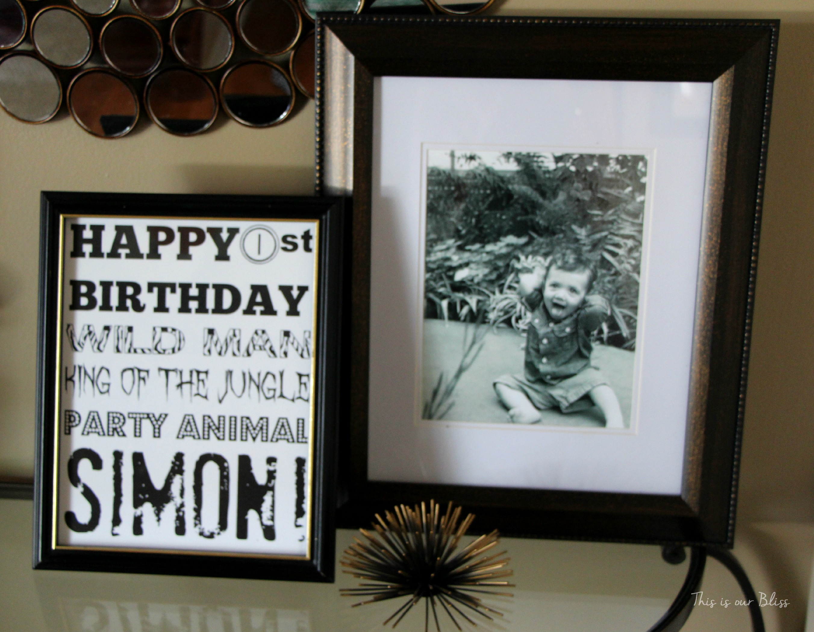 Simon S Safari Style Soiree 1st Bday Party Deets This