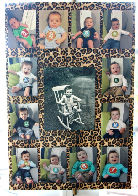 Welcome to the Jungle - safari jungle birthday party - first birthday party - party decorations - DIY party decorations -monthly photo posters This is our Bliss