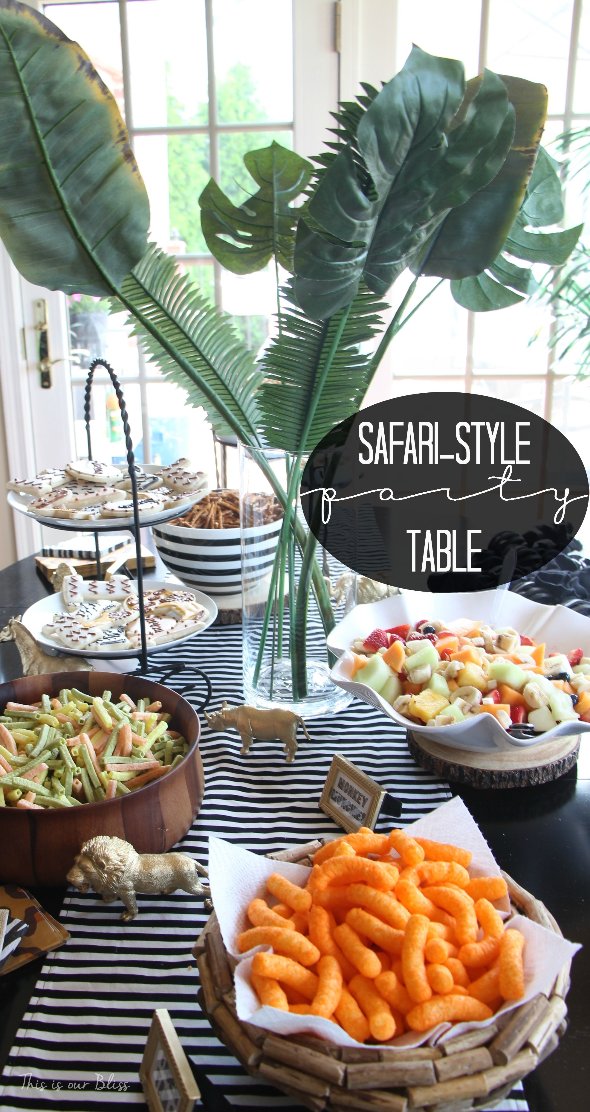 Safaristyle Soiree source list 2 FREE party printables This is