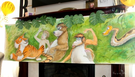 Welcome to the jungle - safari party - birthday party - jungle book canvas - this is our bliss
