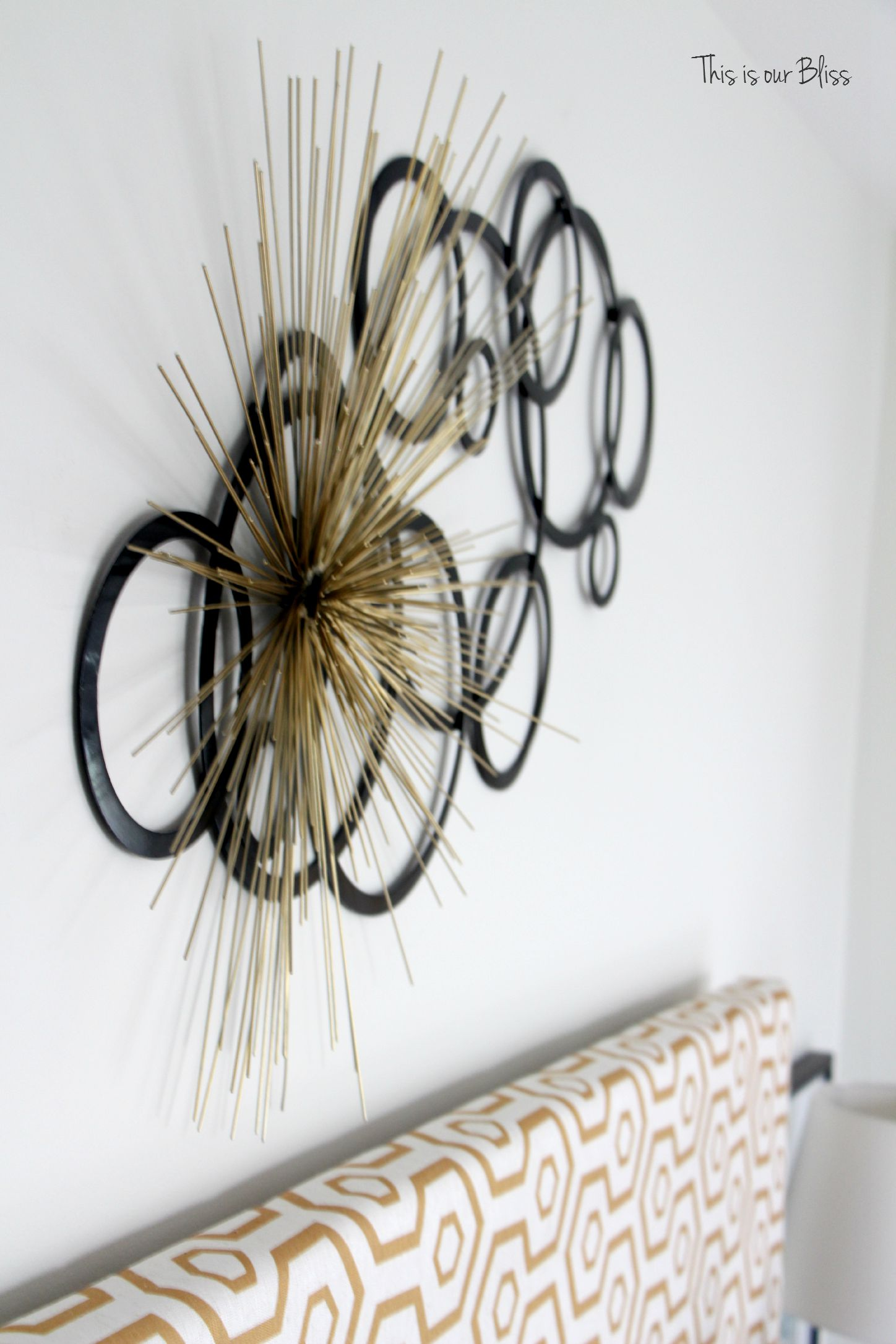 Think again thursday 4 how to layer wall art this is for Unique decorative accessories