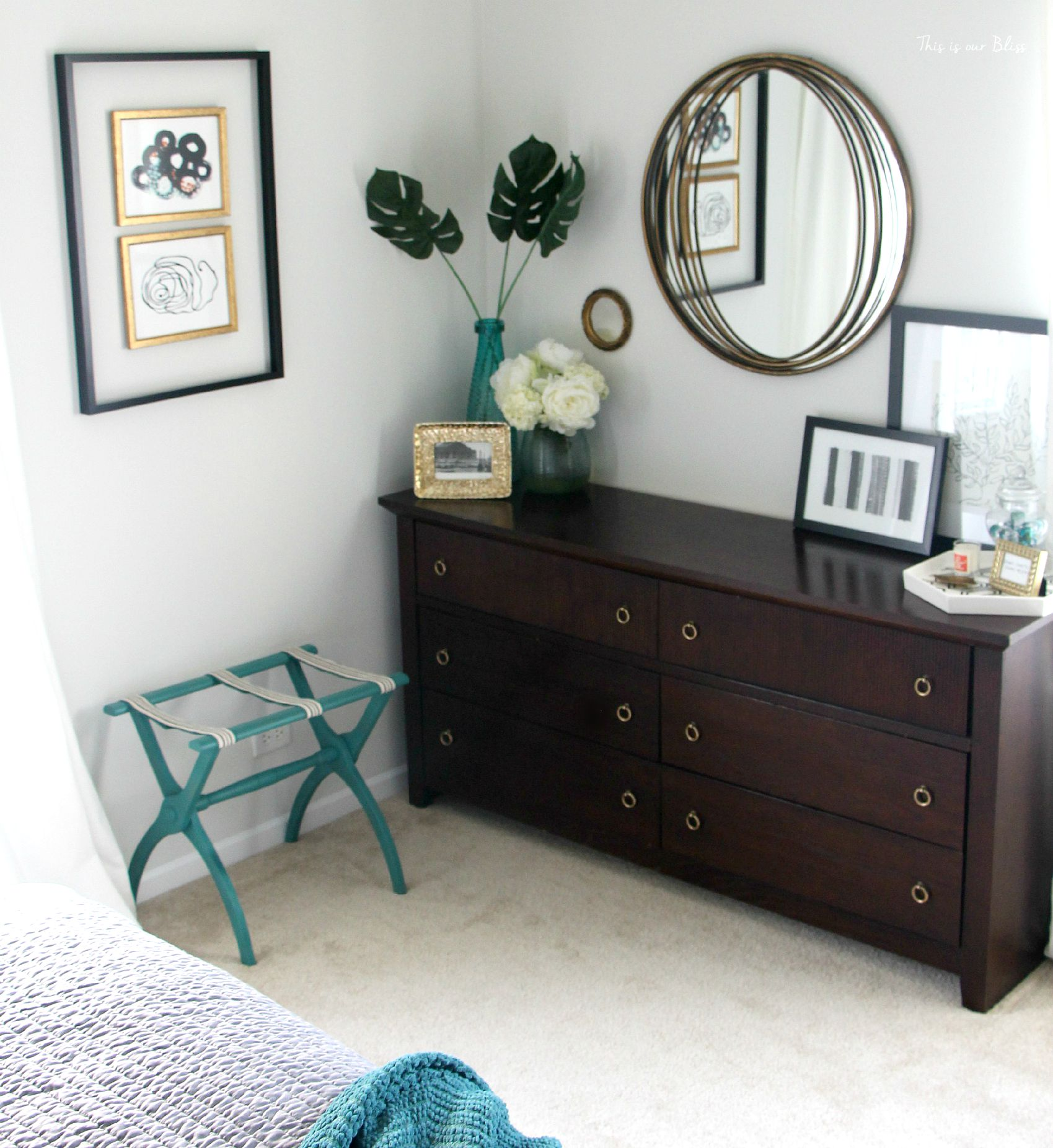 Placed It In The Room And It Was Ready For Guests  Luggage Rack Makeover  Guestroom. Images of Luggage Racks For Guest Rooms   All Can Download ALL