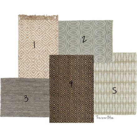 Natural fiber rugs - beachy, earthy vibe rugs - This is our Bliss