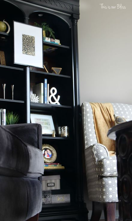 How To Update An Old Bookcase This Is Our Bliss