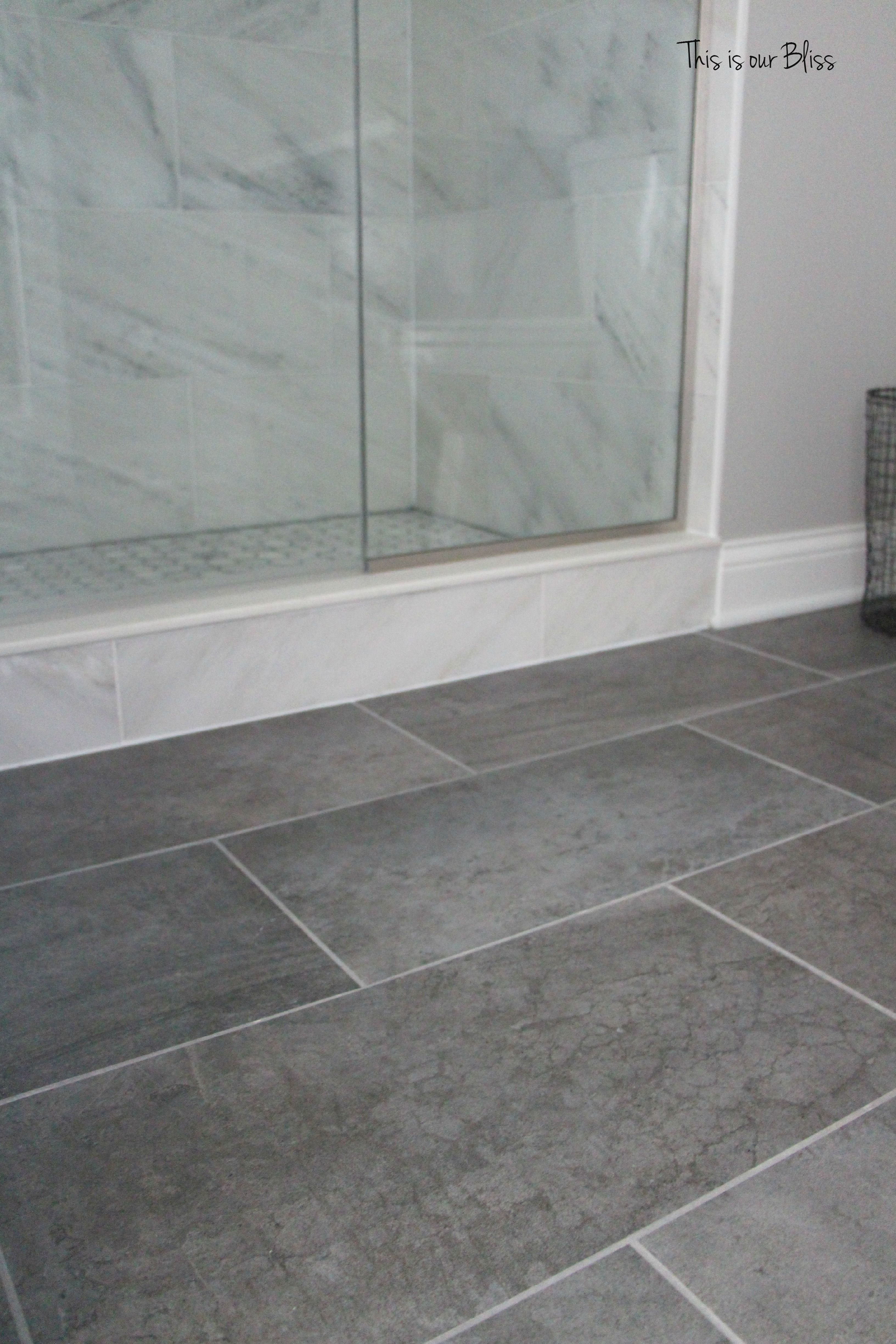 Basement project checklist basement bathroom progress - Bathroom colours with grey tiles ...