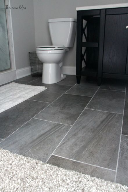 TIOB basement project - basement bathroom - tile - This is our Bliss